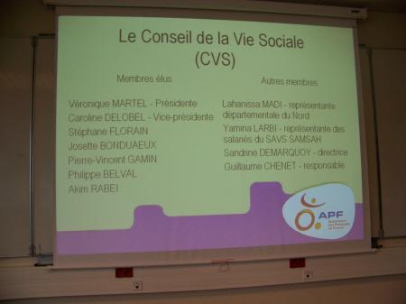 Assemblée générale du CVS 6 nov 2010