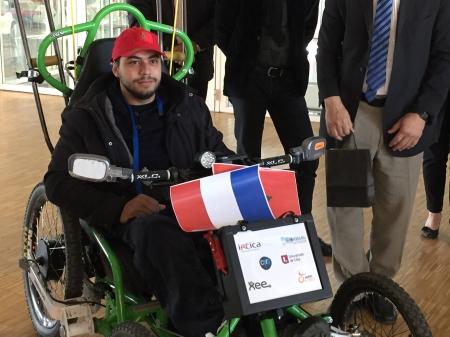 Tour de France scientifique en fauteuil roulant