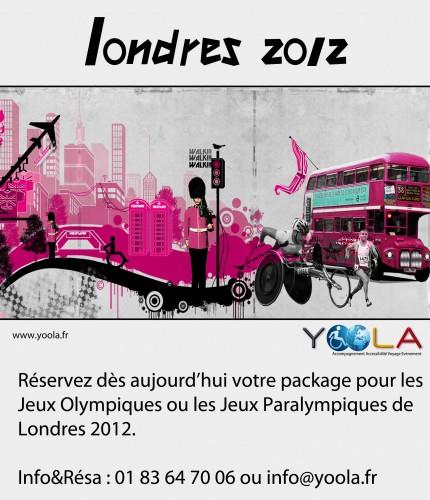 yoola, handicap, JO, jeux olympiques, Londres, paralympique
